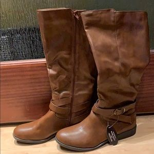Style & co wide calf Riding Boots